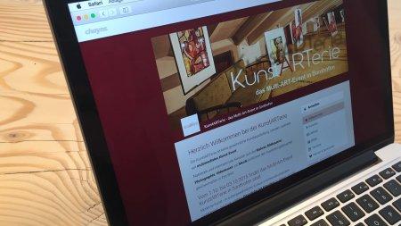 Webseiten - Kunstarterie
