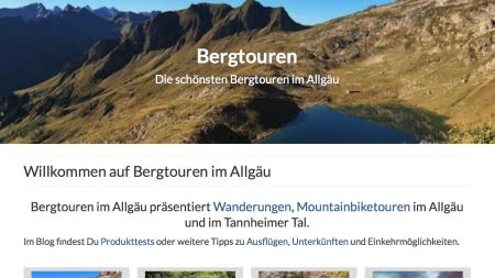 Bergtouren im Allgäu