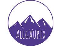AllgauPix Logo 250 weiß