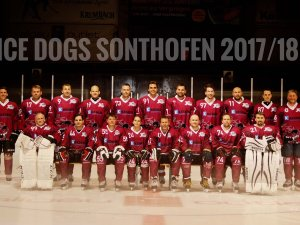 Teambild Ice Dogs Sonthofen