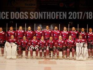 Teambild Ice Dogs Sonthofen