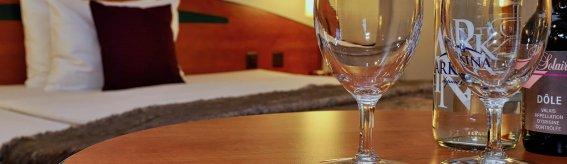Detailaufnahme Hotelzimmer