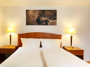 Innenaufnahme Hotelzimmer