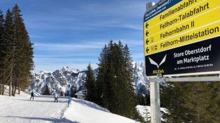 Fellhorn Familienabfahrt