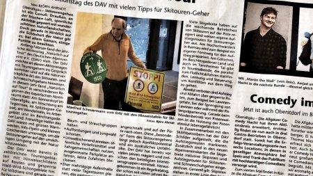 Bericht Deutscher Alpenverein