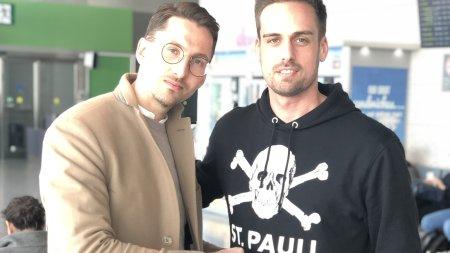 Rene Adler und Chris Schwarz - Foto privat