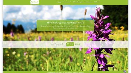 Webseite fair travel