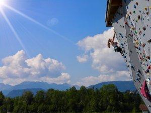 Aussichtsreich Klettern in Sonthofen