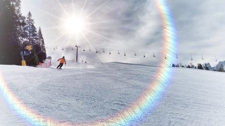 Das Familienskigebiet Carezza in den Dolomiten