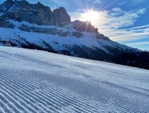 Perfekte Bedingungen zum Skifahren in Carezza