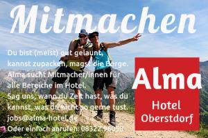 Jobs im Alma Hotel Oberstdorf