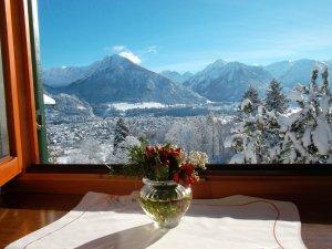 Fewo. Nebelhornblick Winterausblick