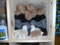 Kuschelige Alpakawolle in verschiedenen Farben
