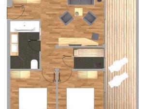 Grundriss Spa Suite Nebelhorn