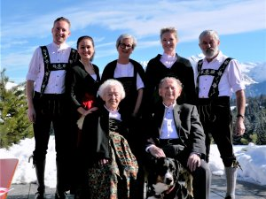 Familie Dornach Winter