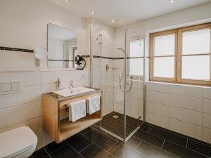 Badezimmer Alpin Suite Deluxe Höfats