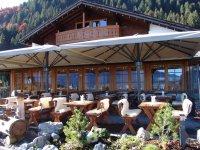 Unsere Alpinum-Terrasse