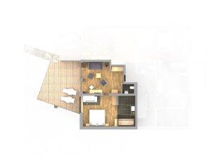 SPA-Appartement Söllereck mit Sauna Grundriss