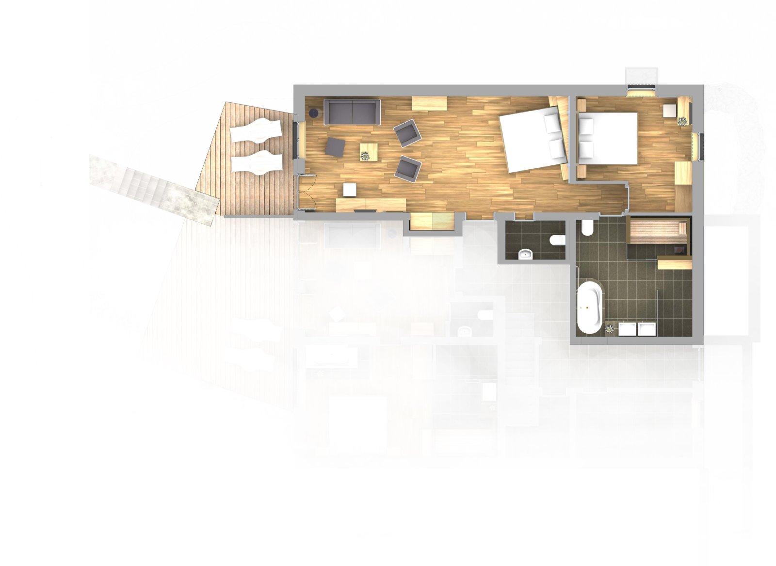 plan appartement hotel