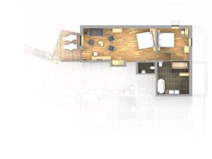 Grundriss Spa Appartment Widderstein