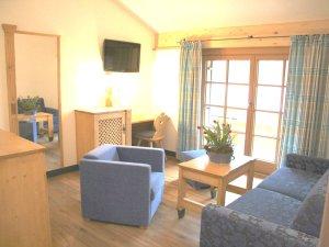 Wohnzimmer Appartement Ifen