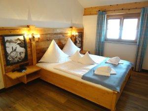 Schlafzimmer Appartement Ifen