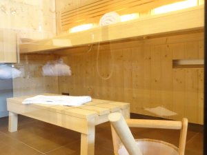 Sauna im Spa-Appartement Söllereck