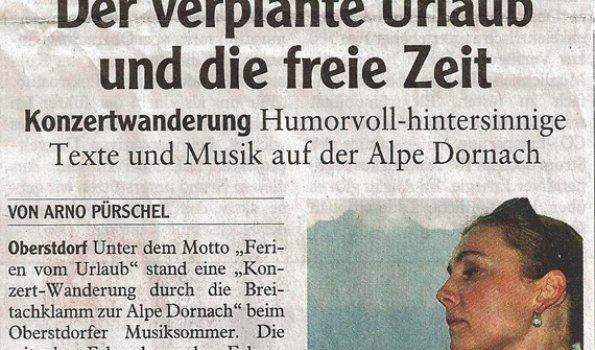 Presseartikel-musiksommer-auf-der-Alpe-dornach