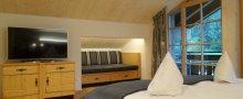 Schlafzimmer mit Alkoven für Kinder