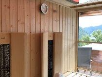 Sauna mit zusätzlichem Infrarot