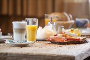 Frühstück auf der Alpe Oberstdorf