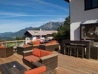 Terrasse mit traumhaftem Bergblick