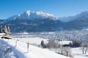 verschneites Oberstdorf