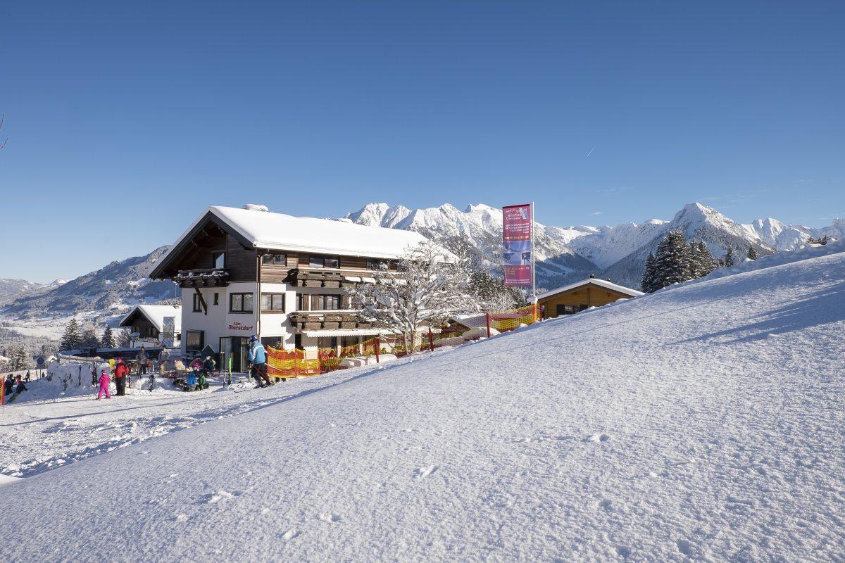 Alpe Oberstdorf direkt im Skigebiet