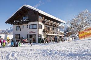 Die Alpe Oberstdorf direkt an der Piste