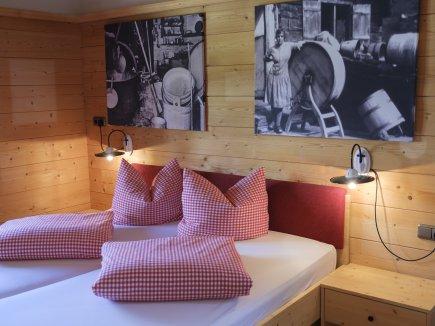 Doppelzimmer auf der Alpe Oberstdorf