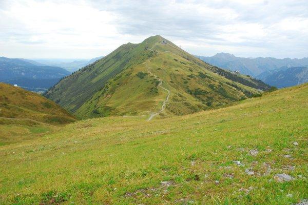Gratwanderung übers Fellhorn