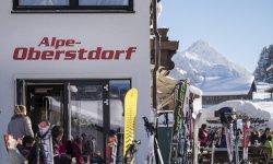 Alpe Oberstdorf im Winter