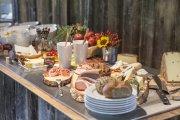 Vielseitiges und regionales Frühstücksbuffet