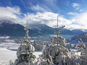 Zauberhaftes Winterwunderland Oberstdorf