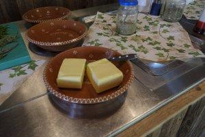 Regionale Allgäuer Butter von glücklichen Kühen
