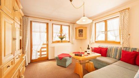 Fewo Alpenblume Wohnzimmer