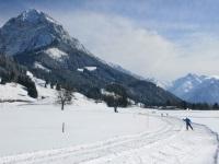 Wandern und Langlaufen zwischen Schöllang und Oberstdorf