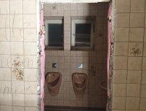 Gäste-WCs abbrechen
