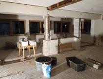Baustelle Ferienwohnung im Erdgeschoss