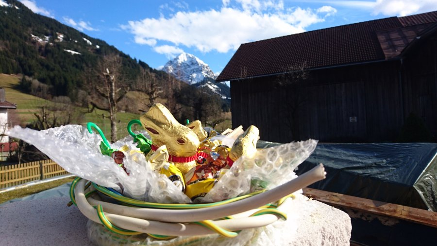 Ostern auf der Baustelle