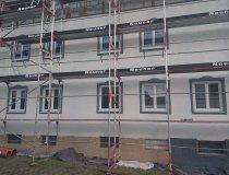 Malen Fensterumrahmung