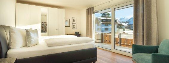 Alpenrose - Schlafzimmer