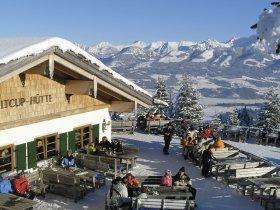 Ofterschwang Weltcuphütte Winter