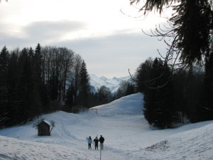 Wanderung Oberstdorf-Rubi